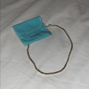 Tiffany & Co. Venetian Box Chain Necklace 16""